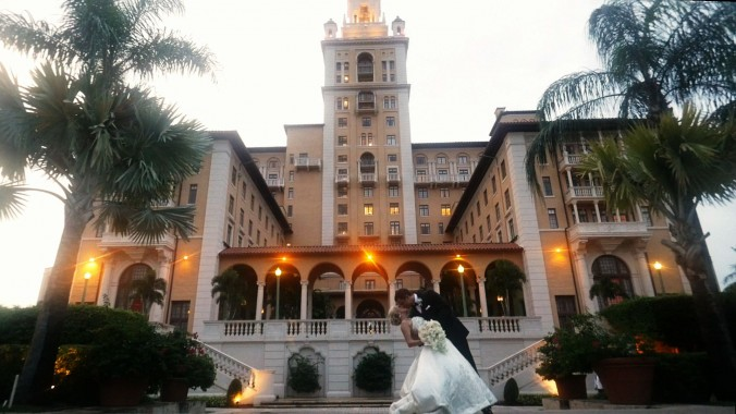 Wedding at The Biltmore Hotel in Coral Gables