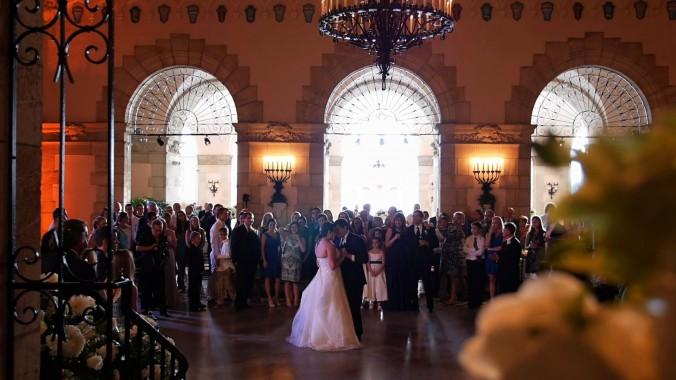 Wedding at Flagler Museum  Erika & Justin