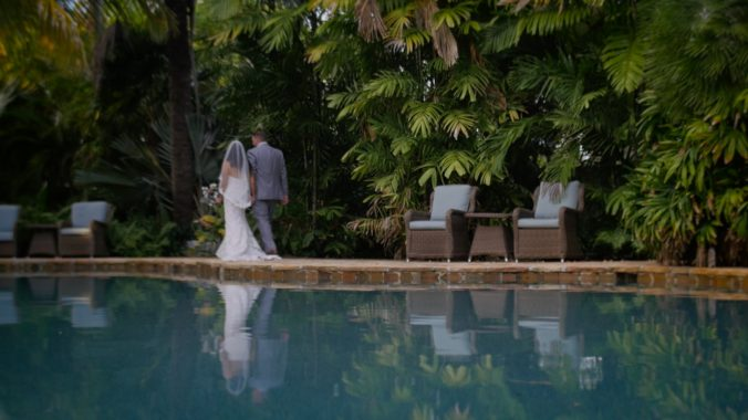 Deborah + Stephen Florida Keys wedding videographer