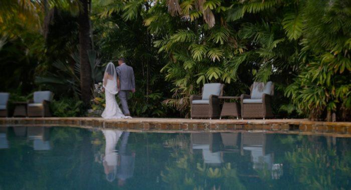 Deborah + Stephen Florida Keys wedding videographer